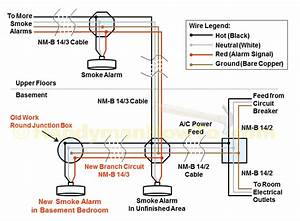 How To Wire Smoke Detectors In Series Diagram