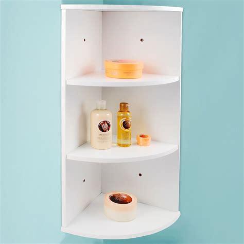 Cupboard Shelf by White Wooden Bathroom Cabinet Shelf Cupboard Bedroom