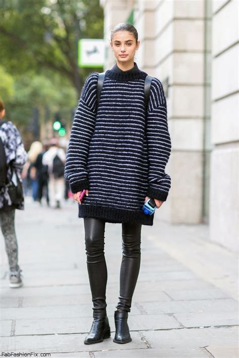 sweaters to wear with style how wear oversized sweater fab