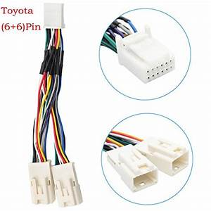 Auxillary Adapter Yomikoo Y Cable Radio Wiring Harness For