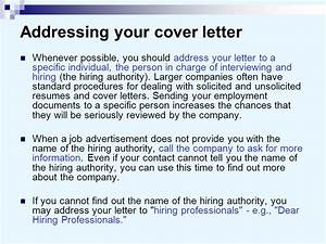 cover letters and business letters ppt video online download With who should you address your cover letter to