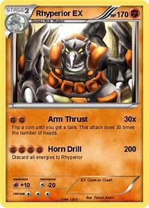 Pokémon Rhyperior EX 8 8 - Arm Thrust - My Pokemon Card
