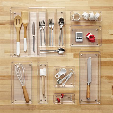 tray organizer for kitchen interdesign linus expandable cutlery organizer the 6364