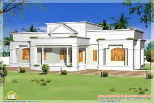 one floor home plans single storey home design with floor plan 2700 sq ft kerala home design and floor plans