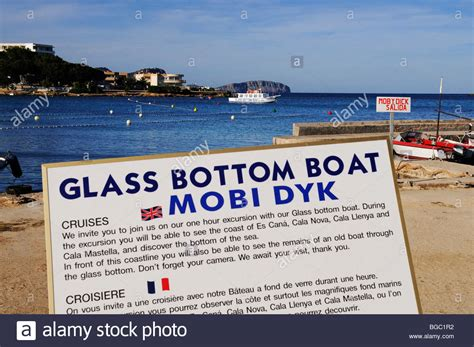 Glass Bottom Boat Es Cana by Glass Bottom Boat Trip Stock Photos Glass Bottom Boat