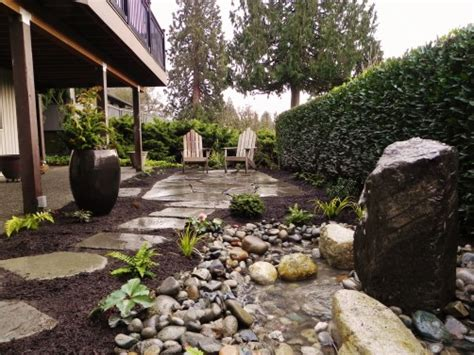 Landscape Design For Small Backyard by A Small Edmonds Landscape Gets A Makeover Problem Solved