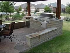 Outdoor Kitchen Plans by Cozy Open Air Kitchen Design Idea Interior Design