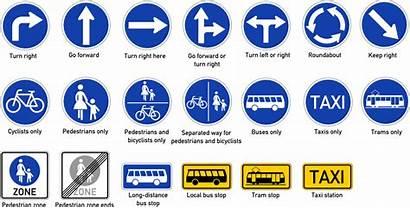 Road Safety Mandatory Form Signs Education Civics