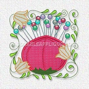 how to a pin cusion sewing pin cushion freeembroiderydesigns com