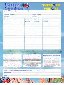 Blank Balance Sheet Template Lottery Syndicate Agreement Form 6 Free Templates In Pdf Word Excel