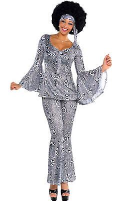 70s Costumes - 70u0026#39;s Disco Costumes for Women - Party City