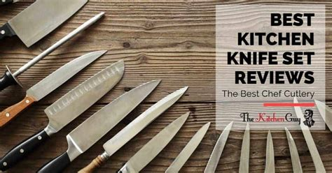 kitchen knife set reviews   chef cutlery