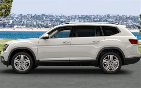 volkswagen atlas white 2018 volkswagen atlas interior and exterior color options