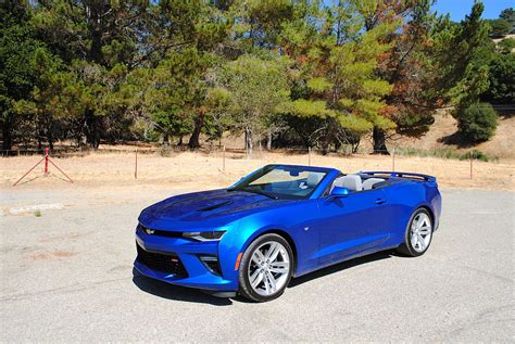 Chevrolet Camaro Ss Convertible by 2016 Chevrolet Camaro Ss Convertible Test Drive Review