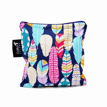 Snack Bag Reusable Colibri Quill Bags Rainbow
