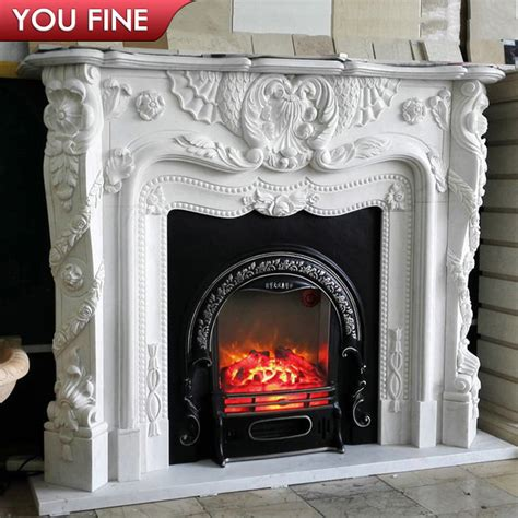 limestone fireplaces for sale carved style white marble fireplace mantels