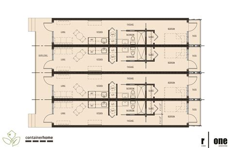 shipping container floor plans dwg two bedroom one bath
