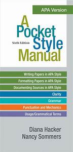 Concise Guide To Apa Style 7th Edition By American 120yuan
