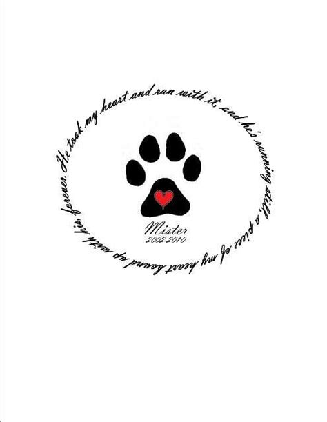 Memorial paw print tattoo; when the time comes for my pup to pass I will get this! | Chihuahua
