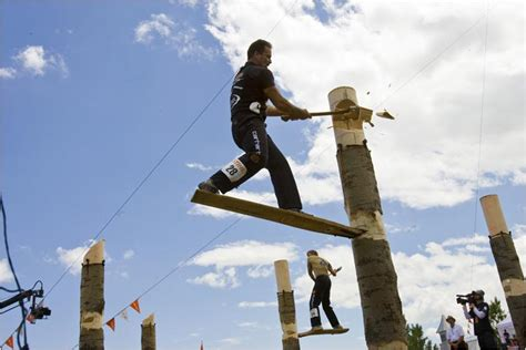 annual stihl timbersports series airs  espn ramzone