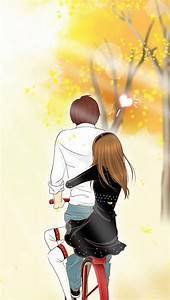 Free Cute Cartoon Couple Wallpapers For Mobile, Download ...