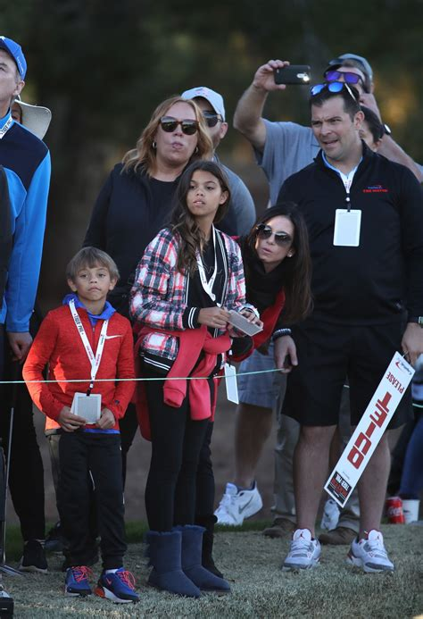 Tiger Woods Acted as Caddy for His 10-Year-Old Son Charlie ...