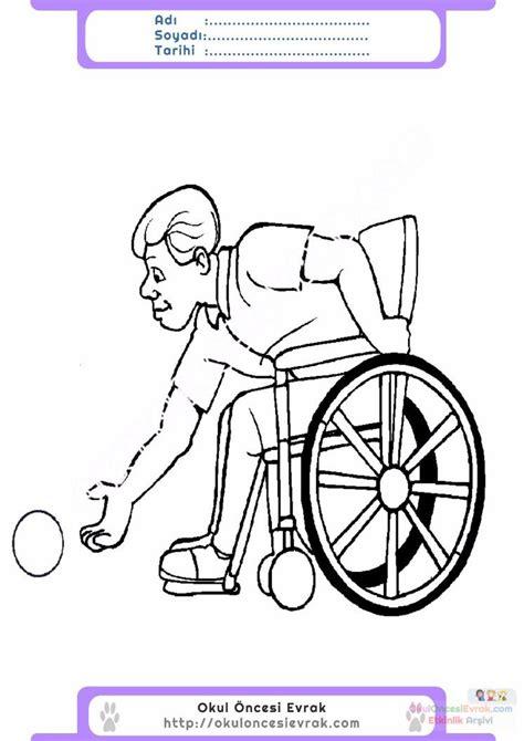 Dünya Engelliler Haftası Boyama Resimlere Göre Ara Red