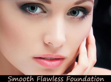 Smooth Flawless Foundation Application Tips To Avoid Cakey Look Arrows Colororange