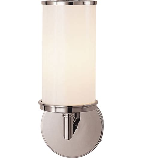 Visual Comfort S2006pnwg Studio Cylinder 1 Light 6 Inch