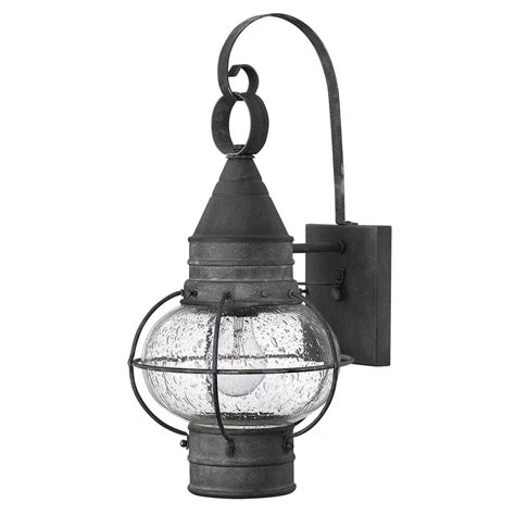 hinkley lighting 2200dz cape cod outdoor small wall sconce