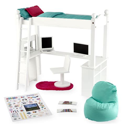 pictures of loft beds treat your princess with journey bedroom sets