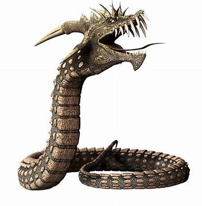 Snake Head Ular Dragon Reptile Gambar Serpent