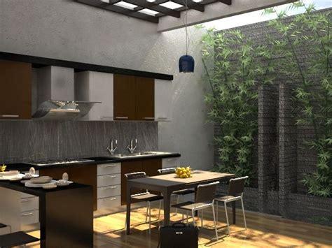 model dapur minimalist terbuka rumah minimalis