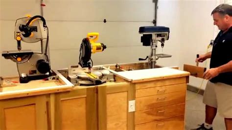 workbench ultimate garage space saver woodworking youtube