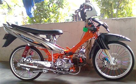 Motor Jupiter Z Modifikasi by Motor Drag Jupiter Z Autos Post