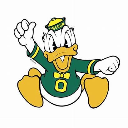 Oregon Ducks Duck Transparent Logos Svg Vector