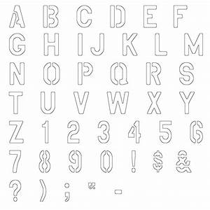 military lettering stencils free With stencils for letters of the alphabet