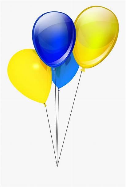 Balloons Clipart Yellow Balloon Clip Golden Yellowand
