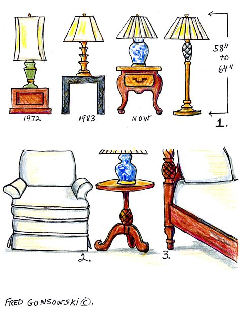 Average Living Room Table Height by The Right Height For Ls And End Tables Decorating