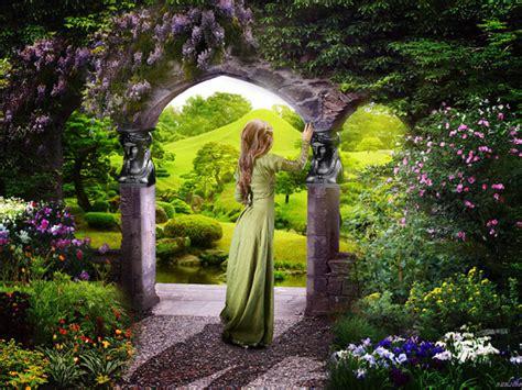 a secret garden got a minute or two sunday meditation