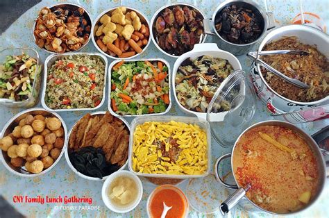 new years day lunch cuisine paradise singapore food blog recipes reviews and travel chinese new year