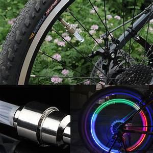 Licht Für Fahrrad : 2x led ventilkappen speichenlicht bunt f r fahrr der autos ~ Kayakingforconservation.com Haus und Dekorationen