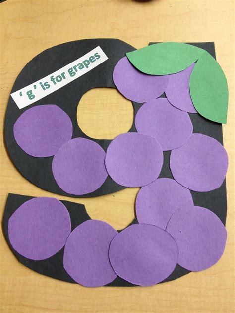 letter g crafts preschool and kindergarten 679 | free alphabet letter g crafts for kids