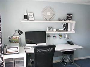 Floating shelves a beautiful way to design your home my for Home office wall shelving