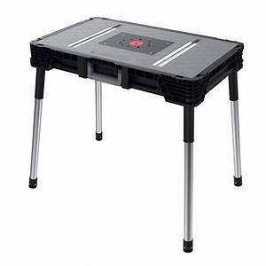 Husky 1 8 ft x 3 ft Portable Jobsite Workbench-225047