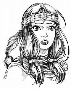 Dessin De Plume Facile : dessins indien 13 blood of wolf pinterest ~ Melissatoandfro.com Idées de Décoration
