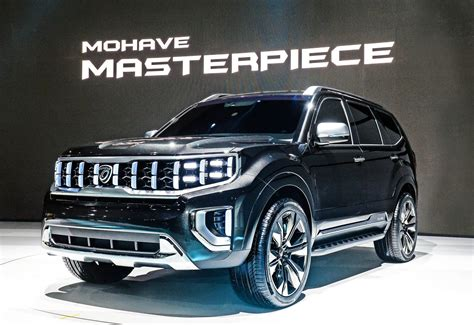 kia mohave masterpiece concept top speed