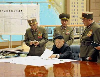 North Korea Targets Map Nuclear Korean Death