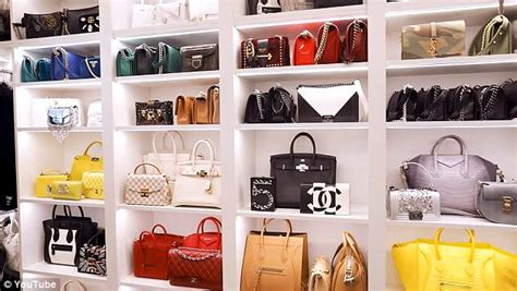 Luxury Closet Handbags by Mogul Hill Shows Lavish Designer