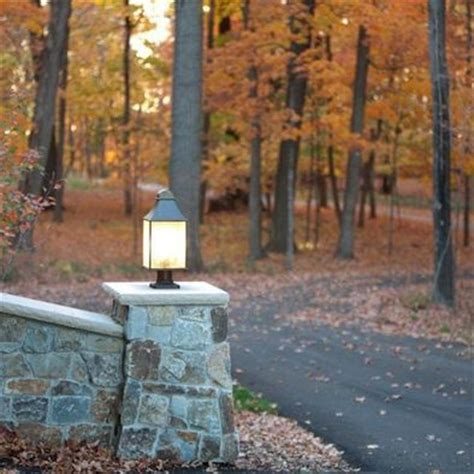 driveway entrance lights driveway pillar with light outdoor ideas pinterest photos ps and projects